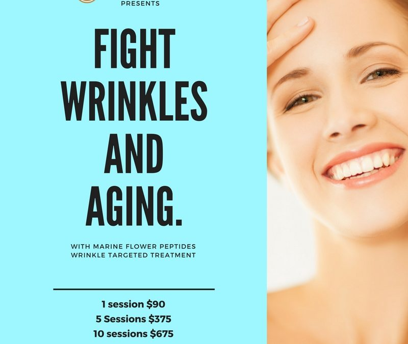 Fight wrinkles and aging today!